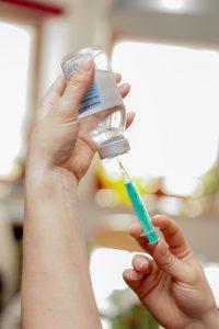 Injekcia